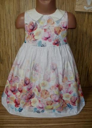 Нежное нарядное платье на 5-6 лет