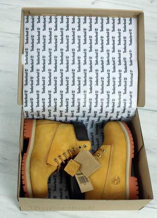 Ботинки женские, тимберленды, timberland, с мехом