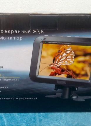 Автомобильный Новый ЖК монитор/телевизор Super DA-702
