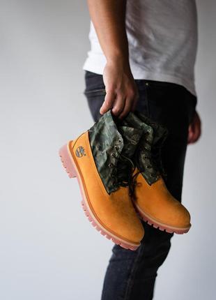 Крутые мужские ботинки тимберленд