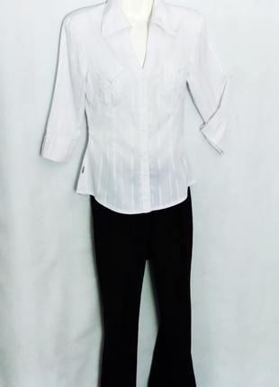 Женская школьная рубашка - блуза белая yifa costume