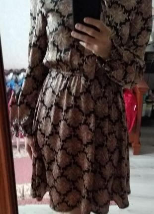 Сукня платье під атлас з браком