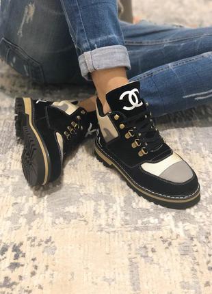 Шикарные люксовые женские деми ботинки