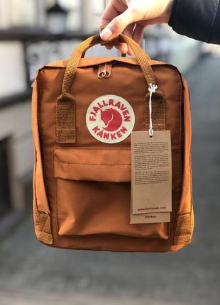Рюкзак унисекс fjallraven kanken mini