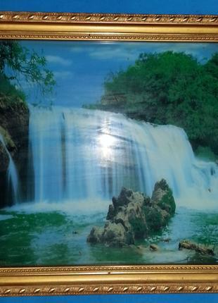 Музыкальная картина фото «Водопад»