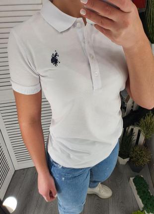 Классная женская футболка поло