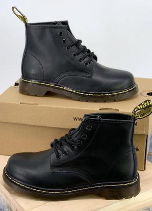 Натуральная кожа!! черевики dr. martens ботинки сапоги мартинсы