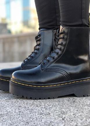 Натуральная кожа!! черевики dr. martens jadon ботинки сапоги м...