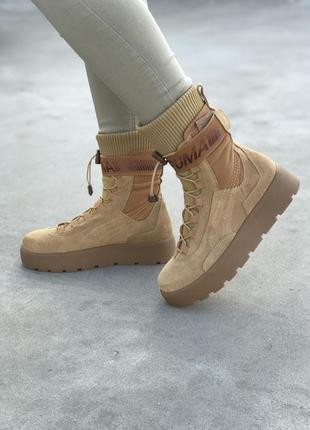 Кроссовки puma x fenty scuba boot brown кросівки
