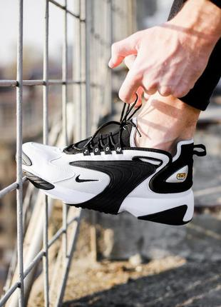 Кросівки nike zoom 2k white / black кроссовки