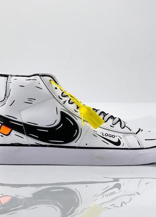 Черевики nike blazer mid ботинки