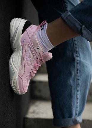 Кросівки nike techno m2k pink кроссовки