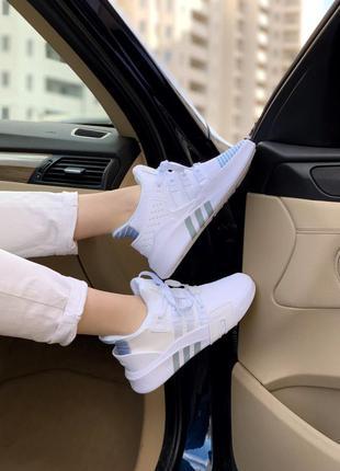 Кросівки adidas equipment bask adv white кроссовки