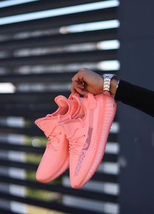 Кросівки adidas yeezy boost 350 pink кроссовки