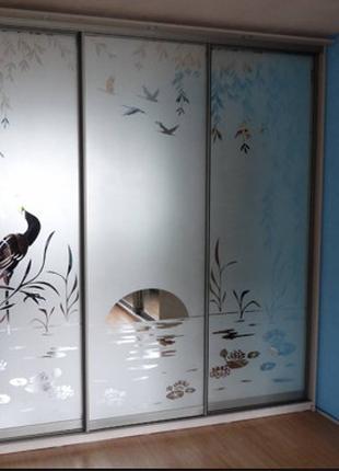 ЧП.Шкафы-купе и раздвижные двери по вашим размерам.
