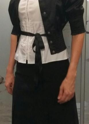 Блузка пиджак юбка подростковые/ школьная форма