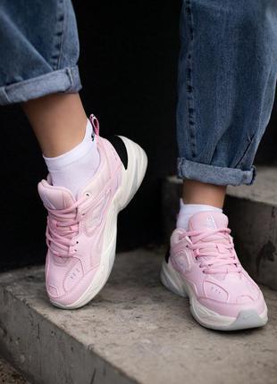 Кроссовки nike techno m2k pink кросівки