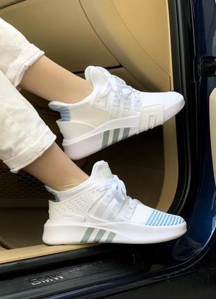 Кроссовки adidas equipment bask adv white кросівки