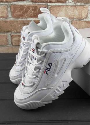 Кросівки філа білі 36-41 розміри кроси кроссовки фила белие