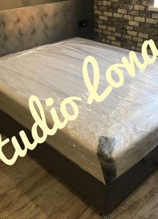 Кровать «Lonax»   Мягкая Кровать   Кровать Двухспальная