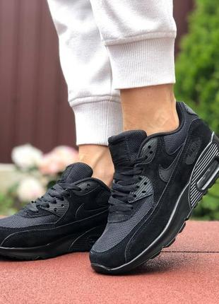Кросівки nike air max 90   кроссовки black