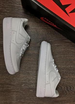 Nike air force 1 белые 37-45 размеры унисекс
