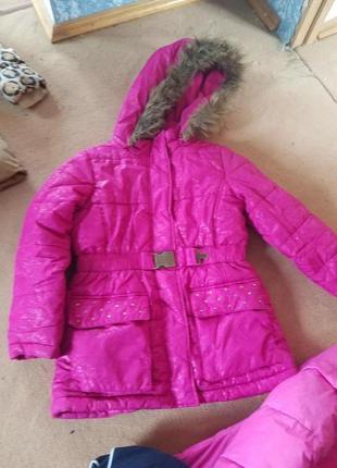 Детская зимняя курточка r1881