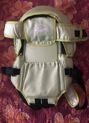 Рюкзак переноска (кенгуру) для ребенка умка