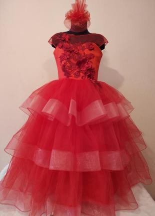 Детское нарядное платье на выпускной