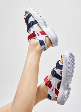 Fila disruptor sandals unisex