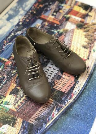 Ликвидация сезона!кожаные туфли, оксфорды, туфли на шнуровке