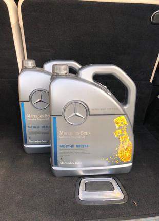 Масло Mercedes-Benz 5w-40 original, масло мерседес