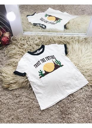 Стильная футболка от zara