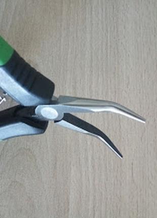 ESD плосковыпуклые плоскогубцы для электроники 45° Haupa