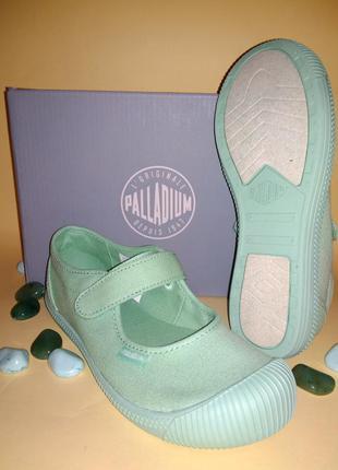 Туфли балетки мокасины мэри джейн palladium eur 29 фисташка