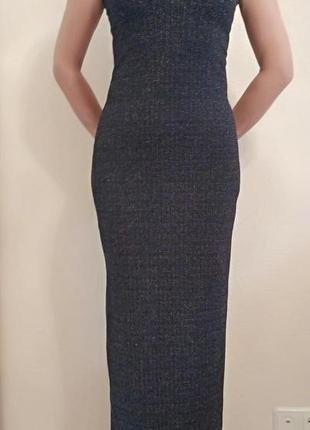 Элегантное вечернее платье нарядное черное S&D Collection, р.3...
