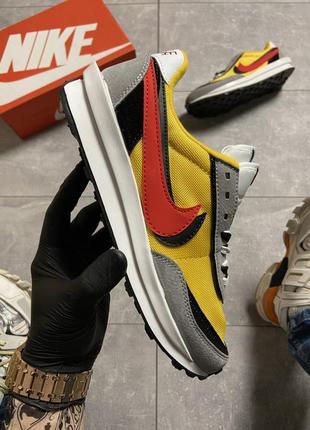 Nike ld waffle sacai yellow
