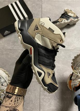 Adidas terrex ax3 beige/black