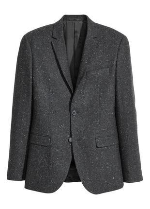 Мужской пиджак из непса h&m , slim fit !