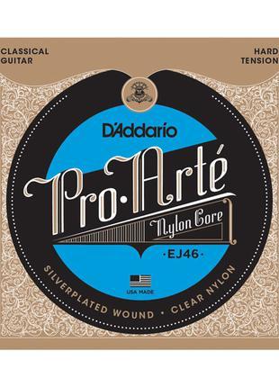 Струны для классической гитары нейлоновые D`Addario EJ46 PRO ARTE