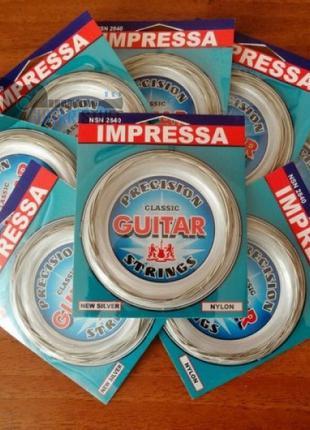 Нейлоновые струны Solid Impressa Для Классической Гитары