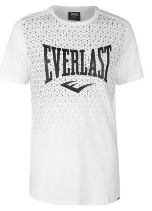 Мужская футболка everlast белая в наличии англия оригинал