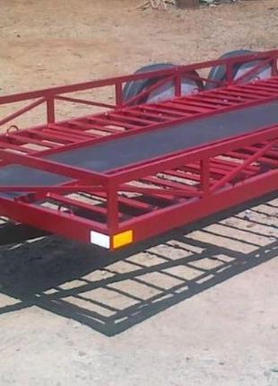 Прицеп для перевозки авто, мини трактора и другой спецтехники.