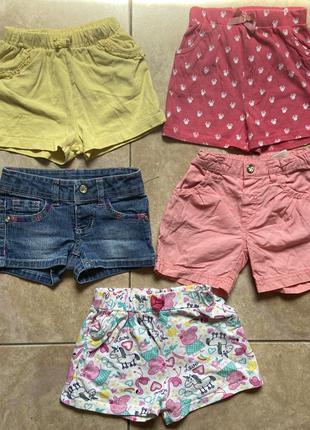 Шорти на дівчинку шорты на девочку