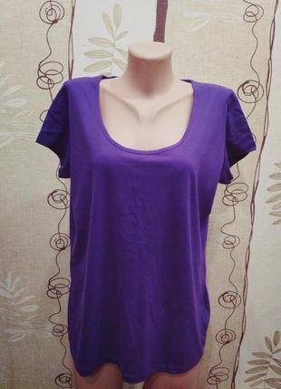 Esmara фиолетовая футболка