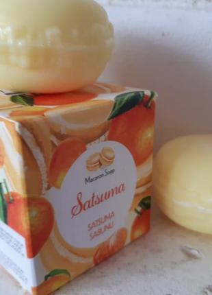 Натуральное мыло мандаринка турция