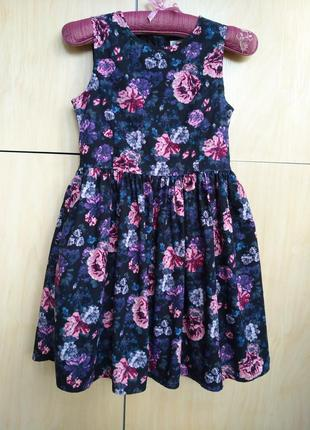 Платье h&m на 9-10 лет