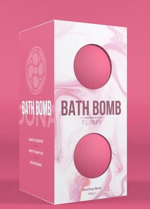 Набор бомбочек для ванны Dona Bath Bomb Flirty Blushing Berry (14