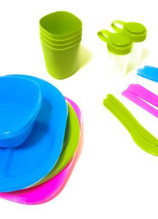 Набор посуды для пикника R86497 36 шт, на 4 персоны