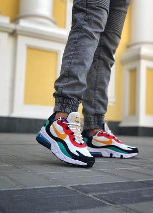 Мужские разноцветные кроссовки nike react